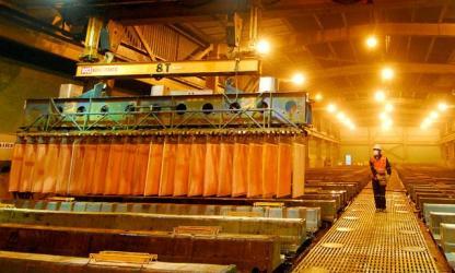 Producción de cobre crecería 20% en el 2014, según SNMPE