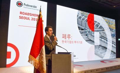 Masificación del gas y PTAR Titicaca captaron interés de inversionistas coreanos