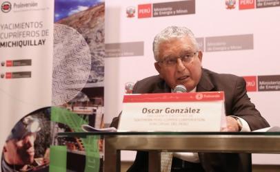 Construcción de Michiquillay iniciaría en 2019, según CEO de Southern Perú